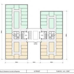 Location Bureau Villeurbanne 334 m²
