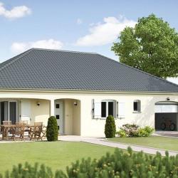 Maison  2 pièces + Terrain  880 m² Arc-et-Senans