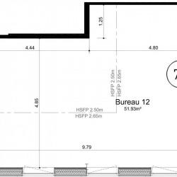 Vente Bureau Ifs 52 m²