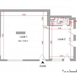 Location Local commercial Schiltigheim 69,38 m²
