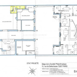 Location Bureau Paris 7ème 167 m²