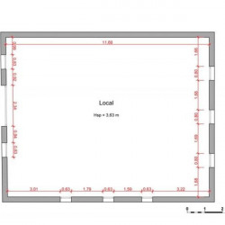 Location Local commercial Corneilla-del-Vercol 103,8 m²