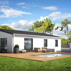 Maison  4 pièces + Terrain  595 m² Semussac