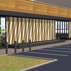 Location Local commercial Quetigny 664 m²