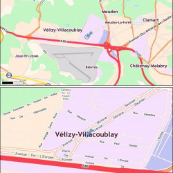 Location Bureau Vélizy-Villacoublay 1143 m²