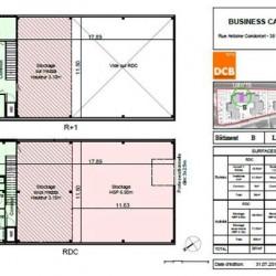 Vente Local d'activités Vaulx-Milieu 2619 m²