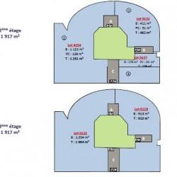 Location Bureau Villepinte 585 m²