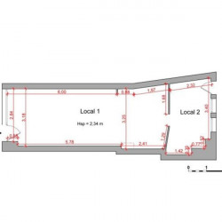 Location Local commercial Massy 36,91 m²