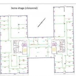 Location Bureau Caluire-et-Cuire 2035 m²