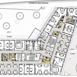 Location Bureau Châtenay-Malabry 4424 m²