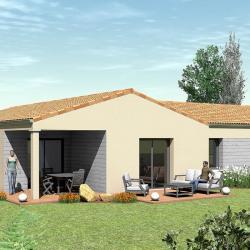 Maison  5 pièces + Terrain   m² Savigny-Lévescault