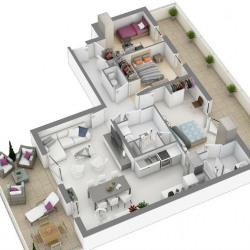 photo appartement neuf Saint-Herblain