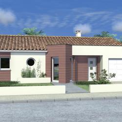 Maison  5 pièces + Terrain  571 m² Les Châtelliers-Châteaumur