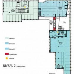 Location Bureau Lyon 3ème 1239 m²