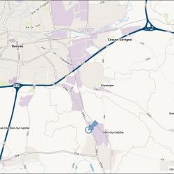 Location Local d'activités Vern-sur-Seiche 55 m²