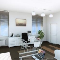 Location Bureau Nantes 87 m²