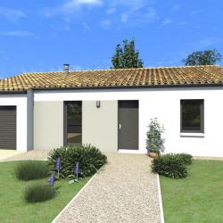 Maison  4 pièces + Terrain  647 m² Saint-Christophe-sur-Roc