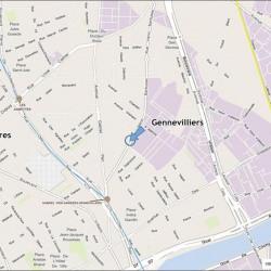 Location Bureau Gennevilliers 19009 m²