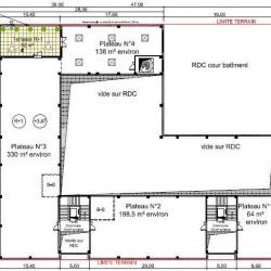 Location Bureau Gennevilliers 819 m²