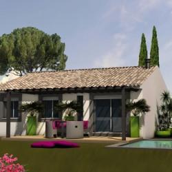 Maison  4 pièces + Terrain  382 m² Mas Thibert