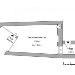 Location Local d'activités Vienne 31,42 m²