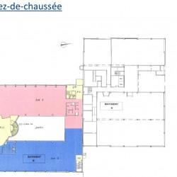 Location Bureau Gennevilliers 3233 m²