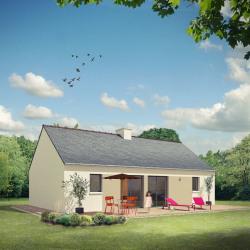 Maison  4 pièces + Terrain   m² Le Sel-de-Bretagne