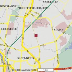 Vente Local d'activités Stains 11834 m²