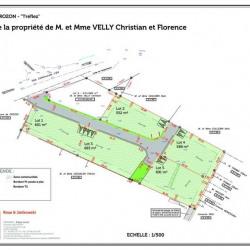 Vente Terrain Crozon 566 m²