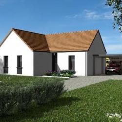 Maison  4 pièces + Terrain  829 m² Contres