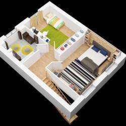 Maison  3 pièces + Terrain   m² Troyes