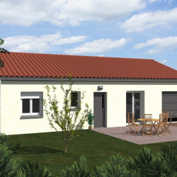 Maison  3 pièces + Terrain  350 m² Mouzillon