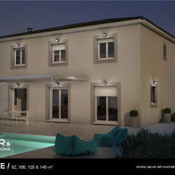 Maison  5 pièces + Terrain  1000 m² Plan-d'Orgon