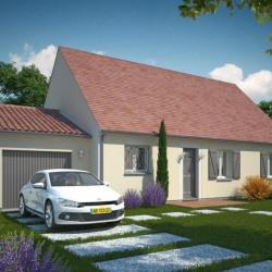 Maison  4 pièces + Terrain  2163 m² Dussac