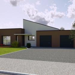 Maison  4 pièces + Terrain  3833 m² Saint-Célerin