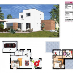 Terrain  de 304 m²  Sarcelles  (95200)