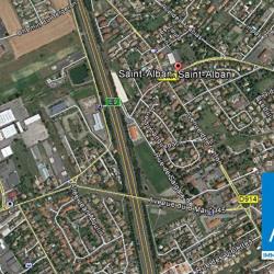 Cession de bail Local commercial Saint-Alban 1400 m²