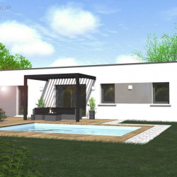 Maison  4 pièces + Terrain  552 m² Anneyron