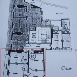 Location Bureau Paris 1er 110 m²
