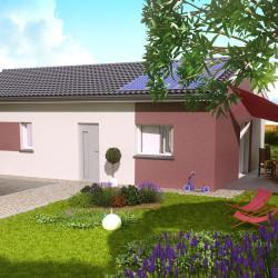 Maison  4 pièces + Terrain  600 m² Montech