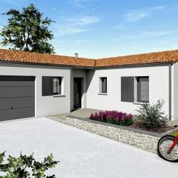 Maison  1 pièces + Terrain   m² Fontenay-le-Comte