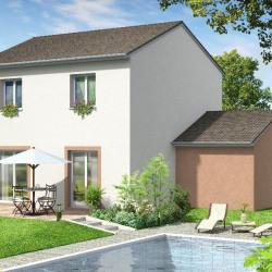 Maison  4 pièces + Terrain  800 m² Corbelin