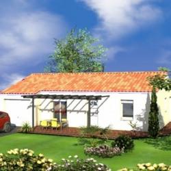 Maison  3 pièces + Terrain  1191 m² Flagnac