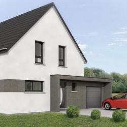 Maison  5 pièces + Terrain  576 m² Matzenheim