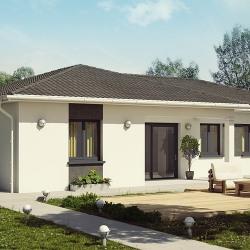Maison  5 pièces + Terrain  900 m² Montrevel en Bresse