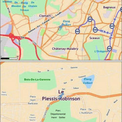 Location Bureau Le Plessis-Robinson 558 m²