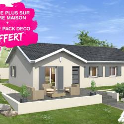Maison  3 pièces + Terrain  425 m² Saint-Didier-sur-Chalaronne