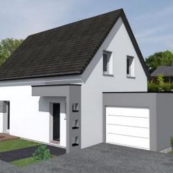 Maison  5 pièces + Terrain  529 m² Mutzig