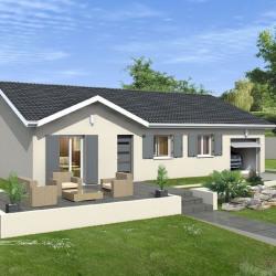 Maison  4 pièces + Terrain  950 m² Bâgé-le-Châtel
