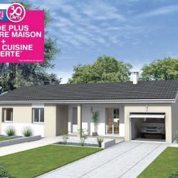Maison  4 pièces + Terrain  627 m² Saint-Cyr-sur-Menthon